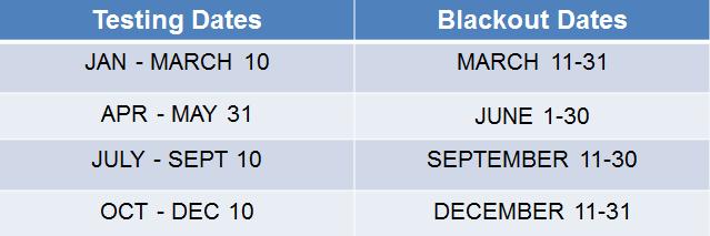 2019 Exam Scheduling – Breezy CPA